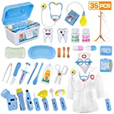 LOYO Medical Kit for Kids - 35 Pieces Doctor