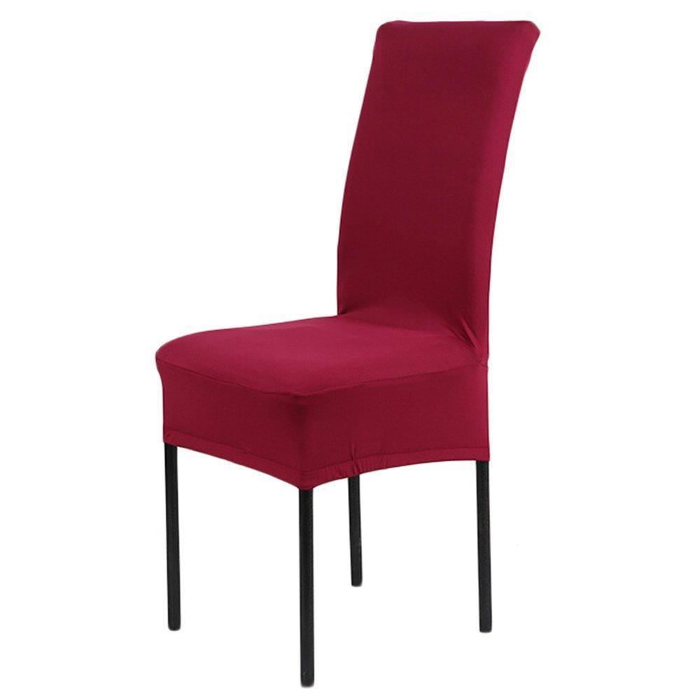 Schon Cosyvie Set 4 Stk. Spandex Bezüge Decken Stuhl Ausziehbar Und Waschbar Für  Schutz Stuhl Esszimmer, Weiß Weiß
