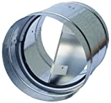4 inch hvac damper - Speedi-Products AC-BD 04 4-Inch Diameter Galvanized Back Draft Prevention Damper