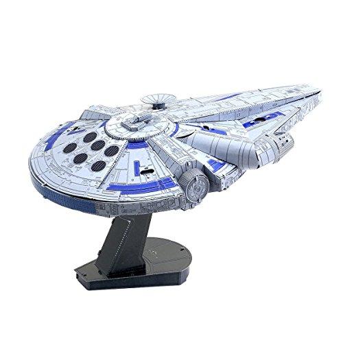 Fascinations ICONX Star Wars Solo Lando's Millennium Falcon 3D Metal Model Kit