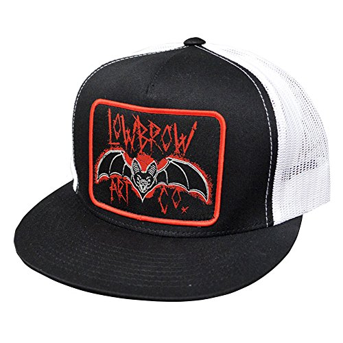 (Ian McNiel Lowbrow Bat Classic Two Tone Trucker Hat)