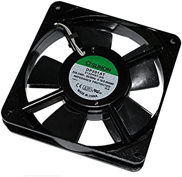 Fan / Ventilador 230V 19W 120x120x25mm 108,7m³/h 43dBA ; Sunon ...