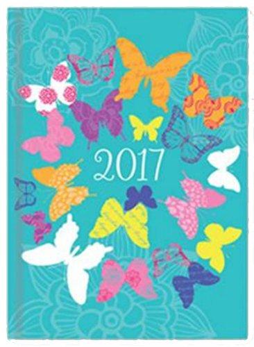 Tallon 0343 turquoise – Agenda 2017 A6, vista semanal ...