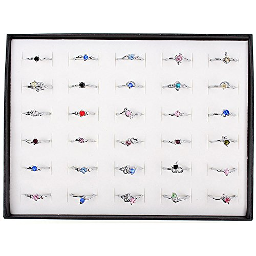 Wholesale Rhinestone Assorted Silver Plated product image