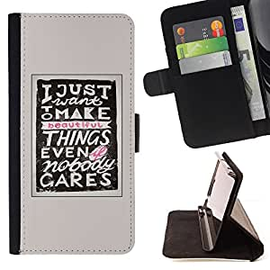 /Skull Market/ - MAKE THINGS INSPIRING MOTIVATIONAL For Samsung Galaxy Core Prime - Caja de la carpeta del tir???¡¯???€????€???????&bd
