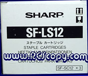 SF-LS12 SF-SC12 Genuine New Sharp 3-Pack Staples SF-2020 SF-2116 SF-2118