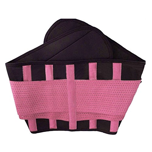 Your Supermart Unisex Elastic Waist Trimmer Belt Tummy Abdomen Binder Band Shaper Girdle