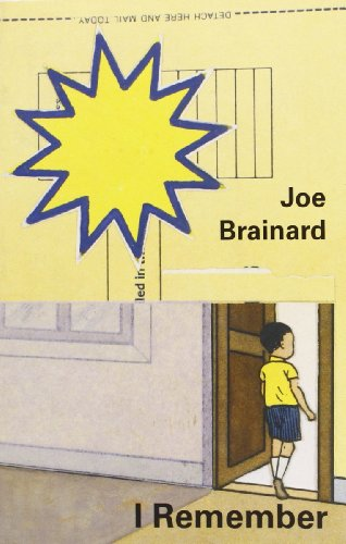 Joe Brainard: I Remember