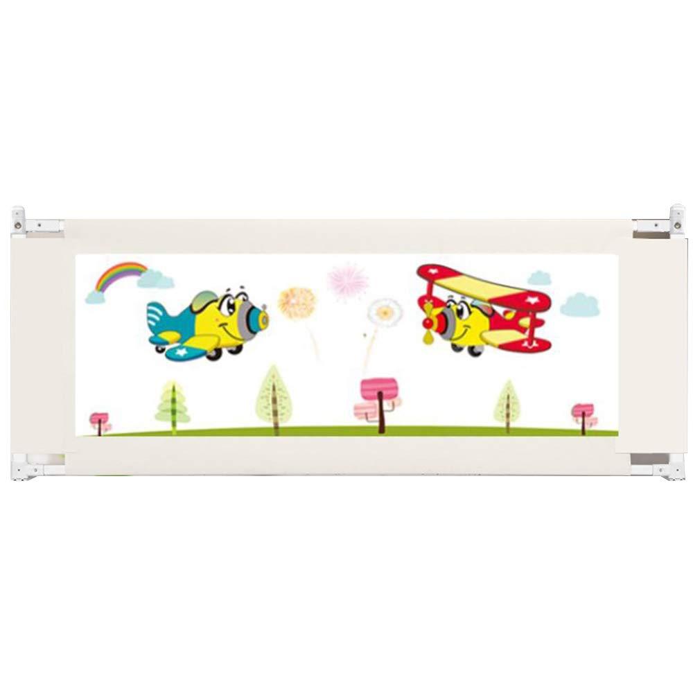 ZR- 幼児用ポータブルベッドレールガード、ベビーセーフティベビーカー垂直レール用ベビーベッド - 88cm (色 : White-180cm)  White-180cm B07LGKBVMW