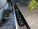 10 Gutter Cups Gutter Guards - 15 Feet Long - Best Gutter Screen Protection - DIY Gutter Guard
