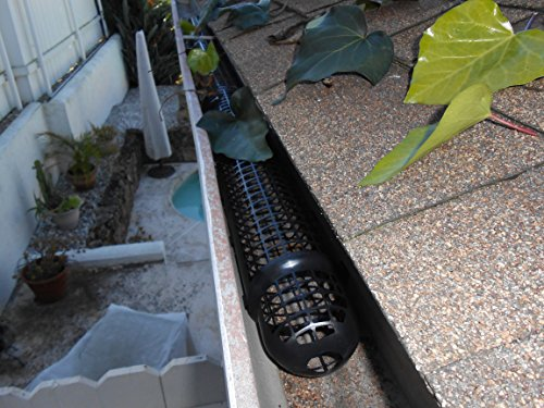 30' Long Needle (20 Gutter Cups Gutter Guards - 30 Feet Long - Best Gutter Cover Protection - DIY Gutter Guard)