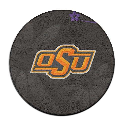 Lovely BOOMY Oklahoma State University Logo Circular Floor Mat For Home Decorator  Dining Room Bedroom Kitchen Bathroom