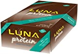 Luna Protein Mint Chocolate Chip, 12 – 1.6 oz bars, 19 ozs.