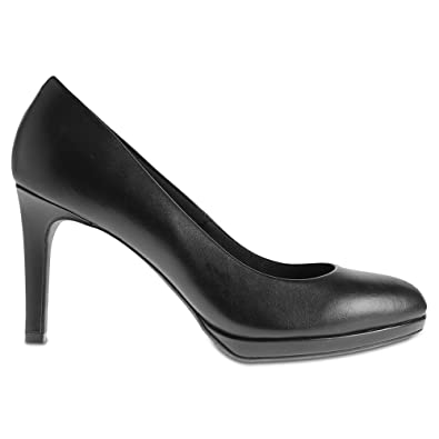 8349e59424a Marks   Spencer Insolia T026259W Wider FIT Stiletto Platform Court Shoes  RRP £45 - Black