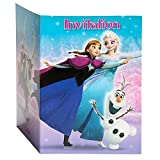 Disney Frozen Party Invitations, 8ct