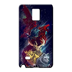 samsung note 4 Durability Bumper Back Covers Snap On Cases For phone phone back shells game of thrones collage