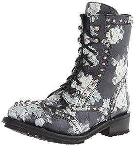 1. Ash Women's Rare Combat Boots
