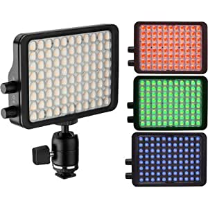 "Luxli Viola 5"" Multi-Color On-Camera LED Light"
