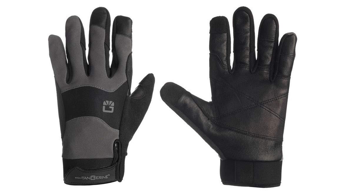 Bright Tangerine ExoSkin Gloves - Small