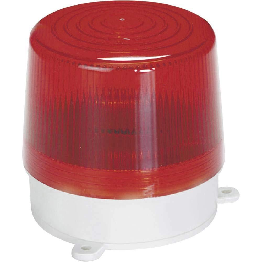 Au/ßenbereich 12 V//DC Basetech BT-1852381 Alarm-Blitzleuchte Rot Innenbereich
