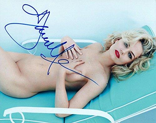 Jennifer Morrison Signed Autograph 8x10 Photo Hot Sexy Nude Pose COA