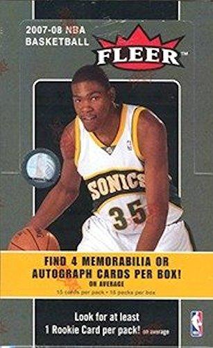 08 Fleer Basketball Hobby Box - 1