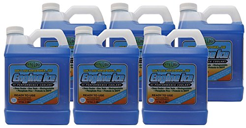 Engine Ice TYDS008-06 High Performance Coolant, 0.5 gallon, 6 Pack by Engine Ice