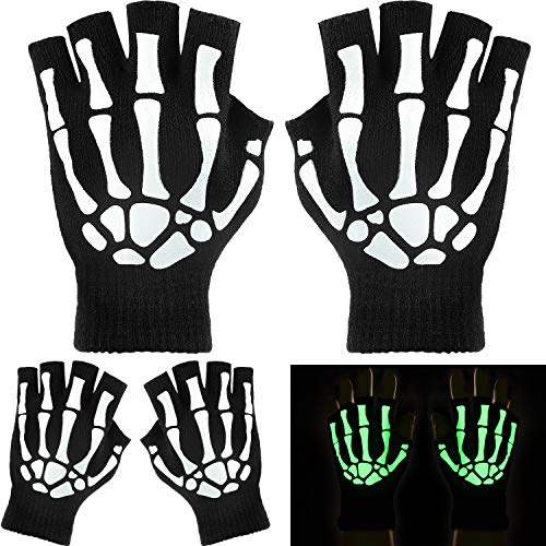 Top 10 best fingerless skeleton gloves for kids for 2020