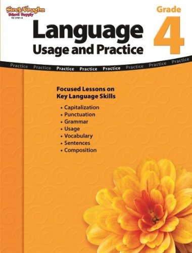 Language: Usage and Practice: Reproducible Grade 4 by HOUGHTON MIFFLIN HARCOURT