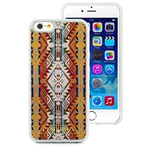 Beautiful and Grace Pendleton 07 Case Cover For Apple Iphone 5S Generation Hard Phone Case in White