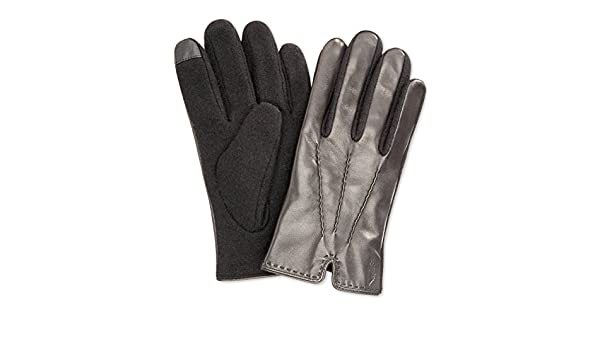 d4d005fa5d4e5 Polo Ralph Lauren Men`s Hand Stitched Nappa Touch Gloves at Amazon Men's  Clothing store: