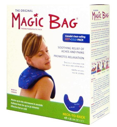 Magic Bag Neck To Back Hot/Cold Pack, 44 Ounce by