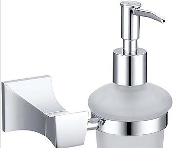 BIANJESUS Jabón Dispensador Bomba Hotel Baño Multifuncional Desinfectante Plástico Cocina Hogar Encimera Aleación De Zinc,