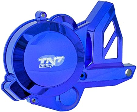 Motorabdeckung Zündungsseitig Blau Piaggio Motor D50b Aprilia Derbi Gilera Auto