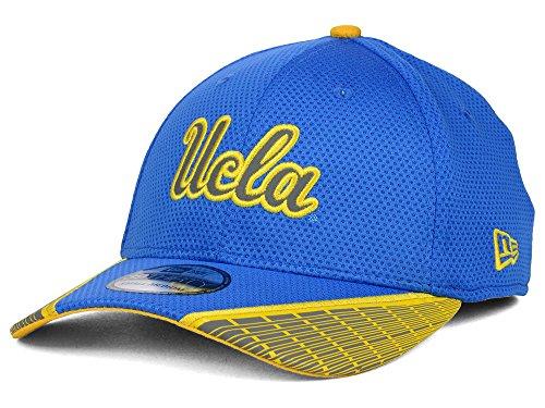 New Era UCLA Bruins NCAA Training Mesh 39THIRTY Cap Size M/L Blue, Gold ()