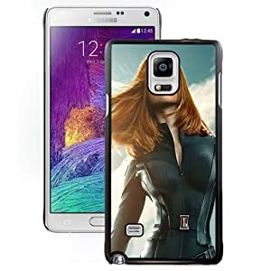 New Personalized Custom Designed For Samsung Galaxy Note 4 N910A N910T N910P N910V N910R4 Phone Case For Black Widow In Captain America The Winter Soldier Phone Case Cover