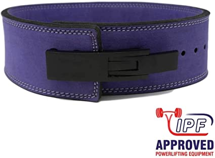 Powerlifting IPF Approved Strength Shop Grey 10mm Lever Belt