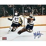 Autographed Mike Palmateer 8x10 Photo - Toronto Maple Leafs