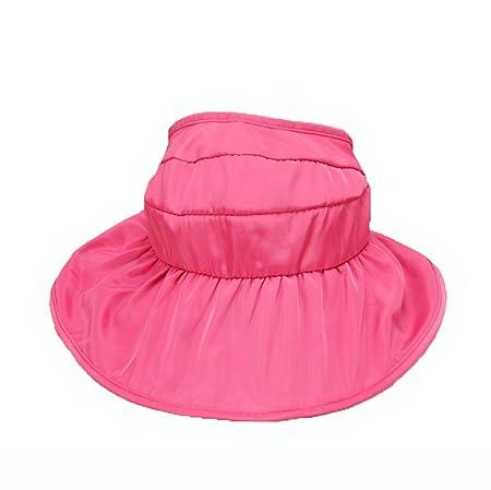 87c07021d2 Boomly Girl Sun Hat Waterproof Visor Cap Insulation Summer Outdoor Beach Hat  Sunscreen Adjustable Bonnet Hat Cotton Baby Hat Brim Sun Protection Hats   ...