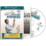 Gentle Fitness DVD - The Original Award-Winning Chair Exercise / Chair Yoga Home Program for Seniors, People Living with Stiffness, Stamina Issues. Therapeutic Breathing, Smart, Fun, and Easy-to-Follow. You Deserve to Feel Good! Free, 20-pg Guide to Exercise.