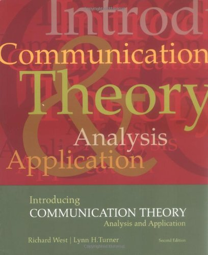 Introducing Communication Theory: Analysis and Application (NAI) by Brand: McGraw-Hill Humanities/Social Sciences/Languages