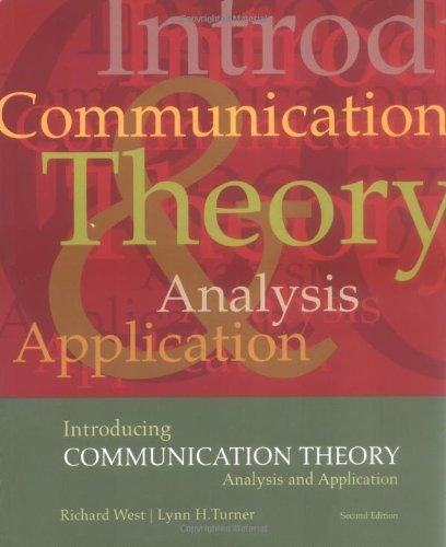 Introducing  Communication Theory: Analysis and Application (NAI)