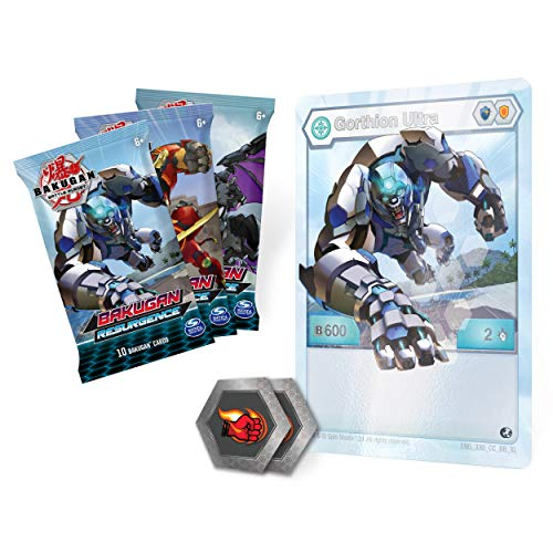 Bakugan, Deluxe Battle Brawlers Card Collection with Jumbo Foil Gorthion Ultra Card, for Ages 6 and Up