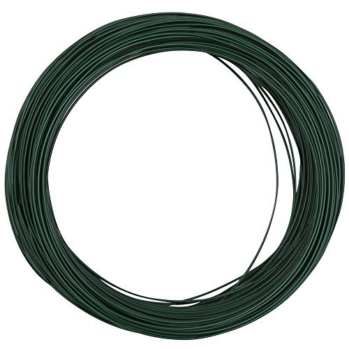 National Hardware N274-985 V2674 Floral Wire in Green, 24 Ga x 100'