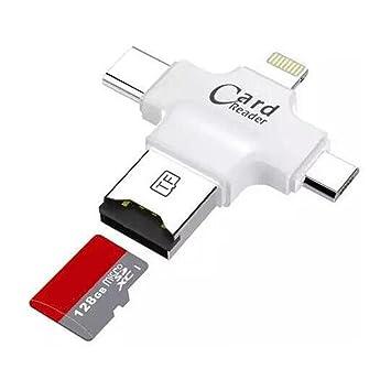 Lotus Power® Lector de tarjetas Micro SD TF lector de ...