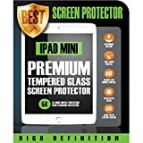 Ipad Mini 1 2 3 Tempered Glass Screen Protector (CRYSTAL CLEAR HD) Shatter-Proof & Scratch Resistant - Premium Grade 9H Protection Ultra Thin Film (0.33mm) Fits all Ipad Mini1 / Mini2 / Mini3 Models