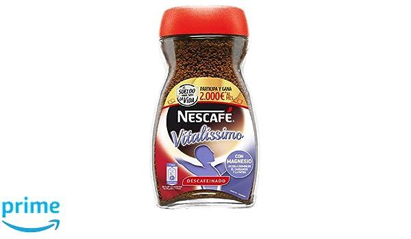 Nescafé Vitalissimo Descafeinado Café Soluble - Paquete de 6 x 200 gr - Total 1.2 kg: Amazon.es: Alimentación y bebidas