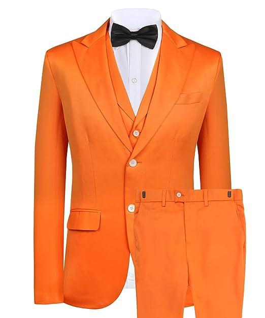 Hanayome - Chaqueta para Hombre, Color Naranja Naranja ...