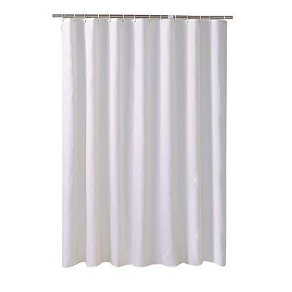 GEOLBU Shower Curtains For BathroomMildew Resistant Waterproof Antibacterial PolysterEasy To Rinse Off