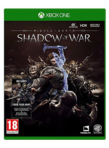 Middle Earth  Shadow Of War  Xbox One  Uk Import Region Free